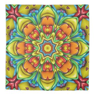 Sunburst Kaleidoscope     Duvet Covers