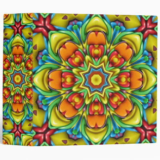 Sunburst Kaleidoscope  EZD&trade Ring Binders