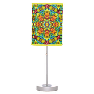 Sunburst  Kaleidoscope  Table Lamp