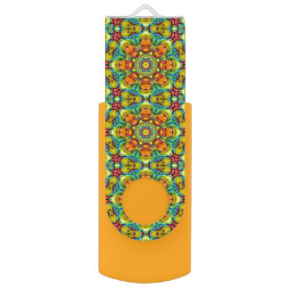 Sunburst  Kaleidoscope  USB Flash drive