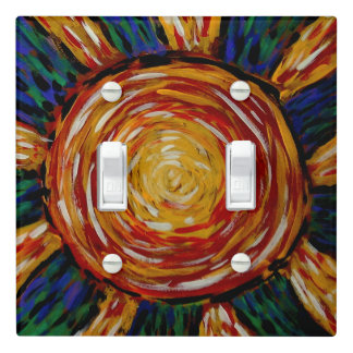 Sunburst Light Switch Cover
