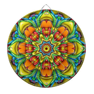 Sunburst Metal Cage Dartboards