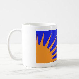 Sunburst - Na Fianna Eireann Basic White Mug