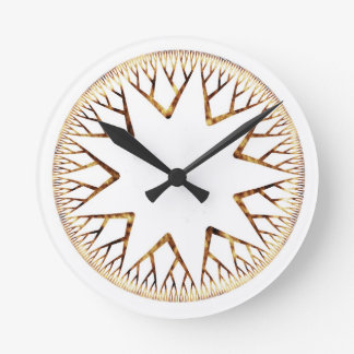 Sunburst One Clock