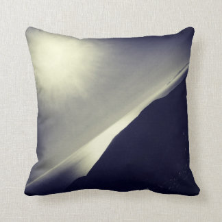 "Sunburst Over the Pacific Throw Pillow 16"" x 16"""