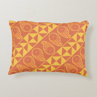 Sunburst Paisley Pillow