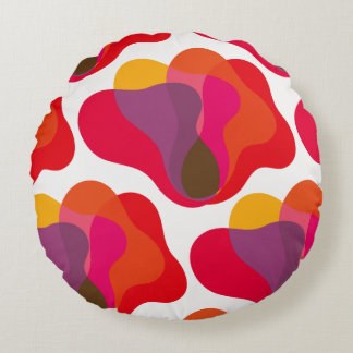 Sunburst Round Pillow