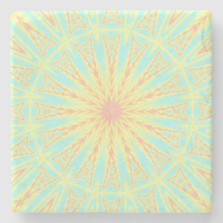 Sunburst Stone Coaster