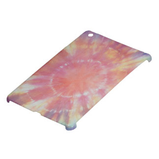 Sunburst Tie Dye warm I iPad Mini Cover