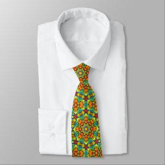 Sunburst Tiled Colorful Ties