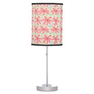 Sunburst Tropical Flower Lamp