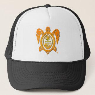 sunburst turtle trucker hat