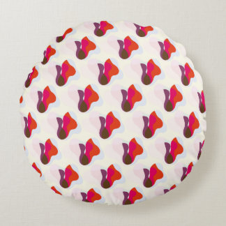 Sunburst V2 Round Pillow
