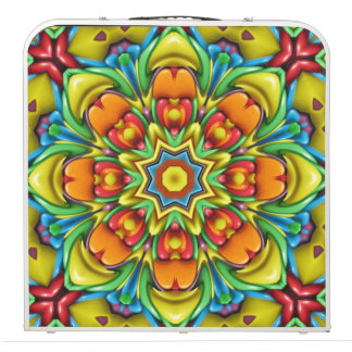 "Sunburst Vintage Kaleidoscope 48""   Pong Table"