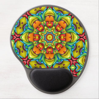 Sunburst  Vintage Kaleidoscope  Gel Mousepad