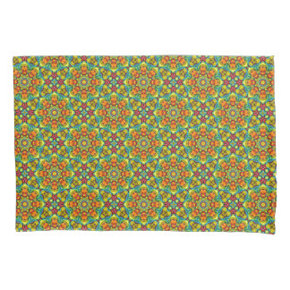 Sunburst Vintage Kaleidoscope  Pillowcases