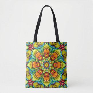 Sunburst Vintage Kaleidoscope    Tote Bag
