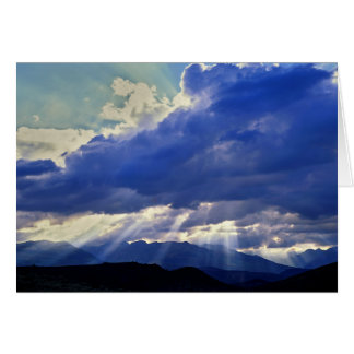 Sunburst - Western Nevada Card