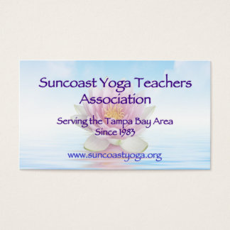 Suncoast Yoga Teachers Association Business Card