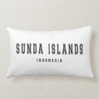 Sunda Islands Indonesia Lumbar Pillow