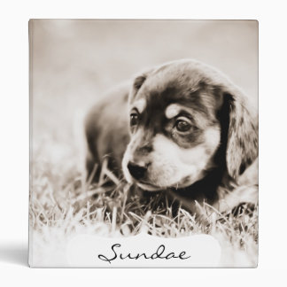 Sundae 4 wks-Lovebug Doxies Keepsake Album Vinyl Binder