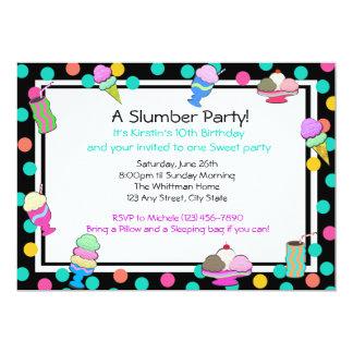 Sundae Party Birthday Card
