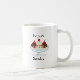 sundae sunday coffee mug