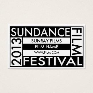 Sundance Film Festival 2013 Business Card