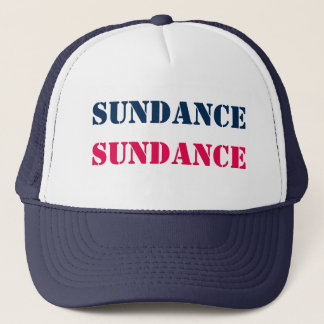 SUNDANCE Sun Dance Sun+Dance Film Festival USA Fun Trucker Hat