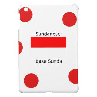 Sundanese Language And Indonesia Flag Design Case For The iPad Mini