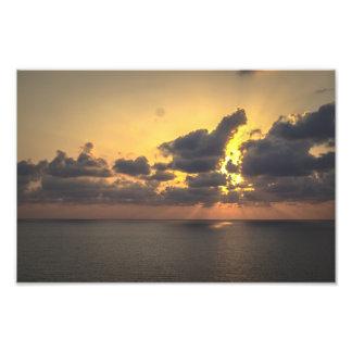 SunDawn Photo Print
