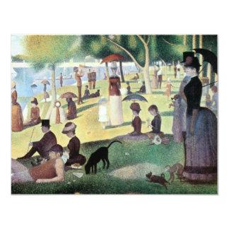 Sunday Afternoon, Island La Grande Jatte by Seurat Custom Announcements