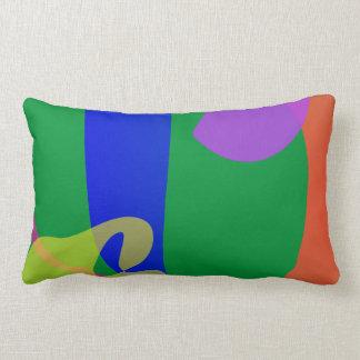 Sunday Afternoon Jazz Lumbar Pillow