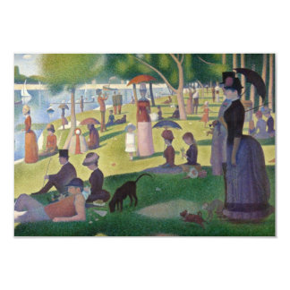 Sunday Afternoon on the Island of La Grande Jatte Card