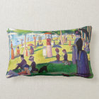 Sunday Afternoon On The Island Of La Grande Jatte Lumbar Pillow