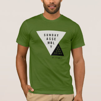 Sunday Assembly Grand Rapids Launch T-Shirt F&B v2