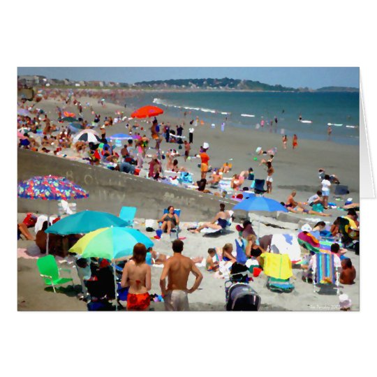 Sunday at Nantasket Beach Card