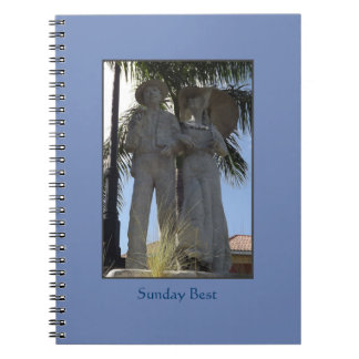 Sunday Best Statue Bradenton Florida Notebook