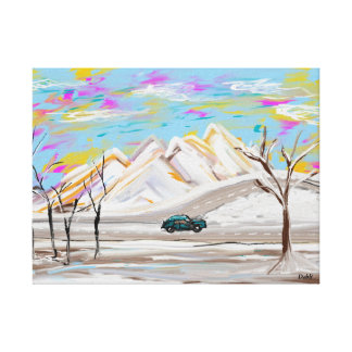 Sunday Drive Canvas Print