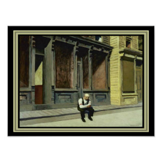 """Sunday"" Edward Hopper 12 x 16 Print"