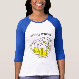 SUNDAY FUNDAY...BEER STEIN PRINT SHIRT