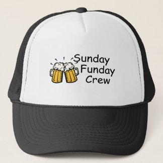 Sunday Funday Crew Beer Trucker Hat