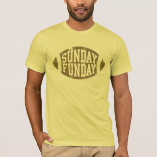 Sunday Funday Football T shirt