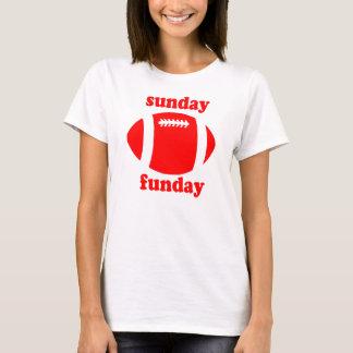 Sunday Funday - red T-Shirt