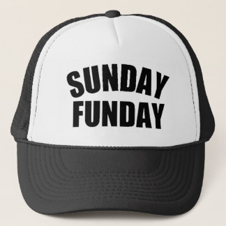 Sunday Funday Trucker Hat