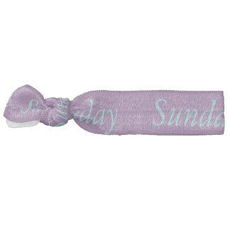 Sunday hair ornament hair tie