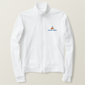 Sunday in Malibu embroidered template Embroidered Jacket