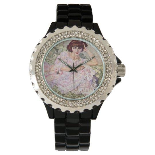 Sunday Morning Beauty Wrist Watch