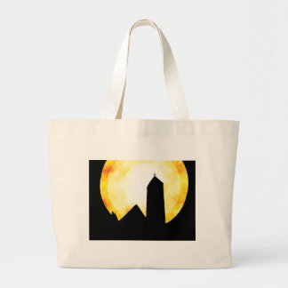 Sunday Morning Church Large Tote Bag
