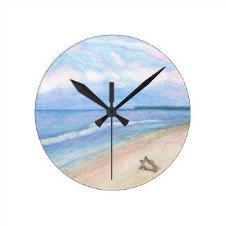 Sunday Morning on Flagler Beach Clock